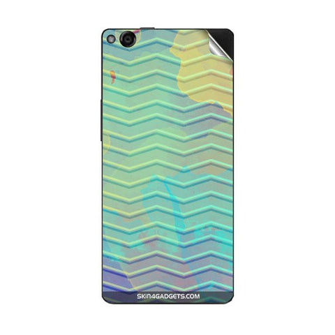 Colourful Waves For GIONEE M3 Skin