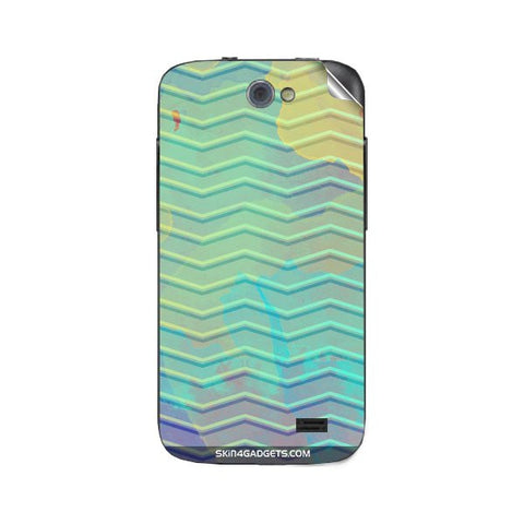 Colourful Waves For GIONEE P2 Skin