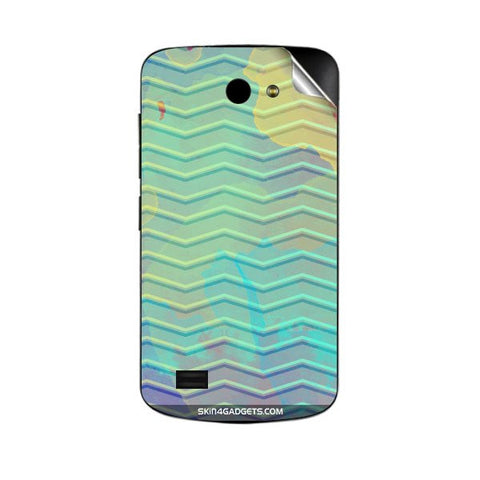 Colourful Waves For GIONEE P3 Skin