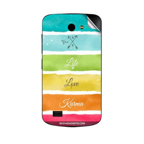 Lets Love Life For GIONEE P3 Skin