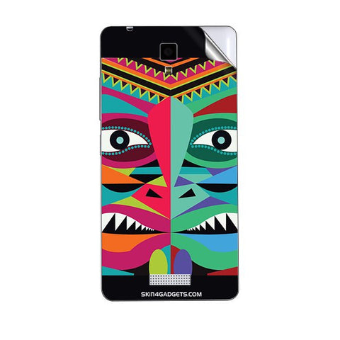 Tribal Face For GIONEE P4 Skin