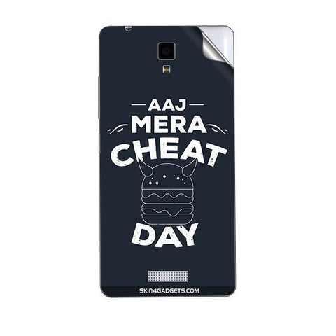 Aaj Mera Cheat Day For GIONEE P4 Skin