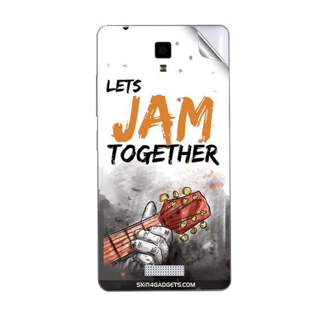 Lets Jam Together For GIONEE P4 Skin