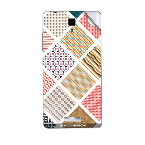 Varied Pattern For GIONEE P4 Skin