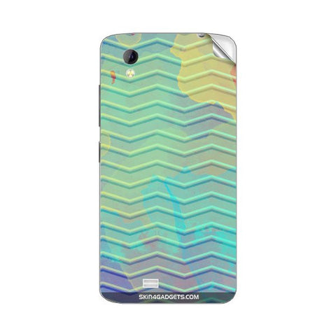 Colourful Waves For GIONEE P4S Skin