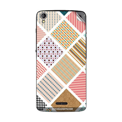 Varied Pattern For GIONEE P6 Skin