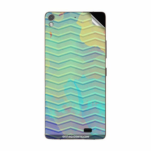 Colourful Waves For GIONEE S5.1 Skin
