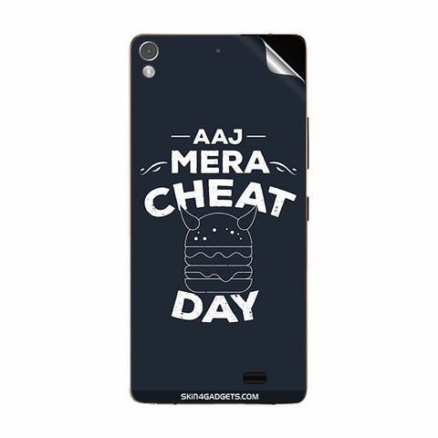Aaj Mera Cheat Day For GIONEE S5.1 Skin