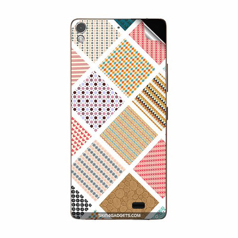 Varied Pattern For GIONEE S5.1 Skin