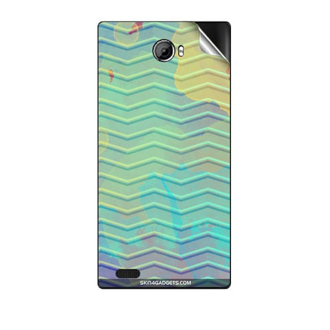Colourful Waves For GIONEE V4S Skin