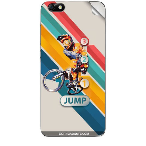 1 2 3 Jump For HUAWEI HONOR 4X (ONLY BACK) Skin