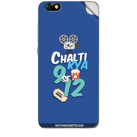 Chalti Kya 9 se 12 For HUAWEI HONOR 4X (ONLY BACK) Skin