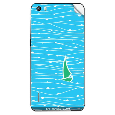 Boat Pattern For HUAWEI HONOR 6 PLUS Skin