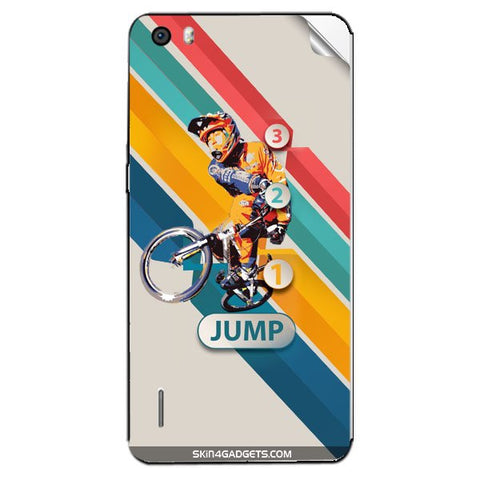 1 2 3 Jump For HUAWEI HONOR 6 PLUS Skin