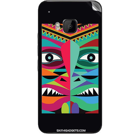 Tribal Face For HTC ONE M9 Skin