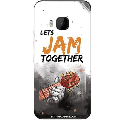 Lets Jam Together For HTC ONE M9 Skin