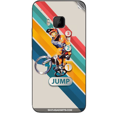 1 2 3 Jump For HTC ONE M9 Skin
