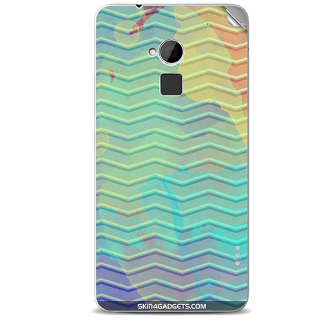 Colourful Waves For HTC ONE MAX Skin