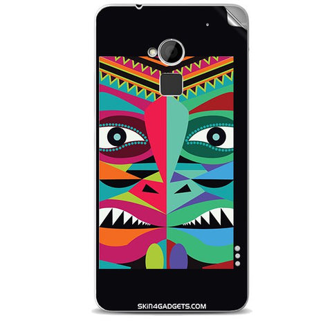 Tribal Face For HTC ONE MAX Skin