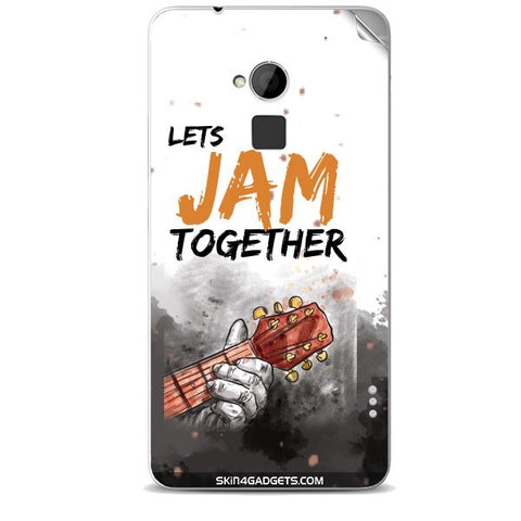 Lets Jam Together For HTC ONE MAX Skin