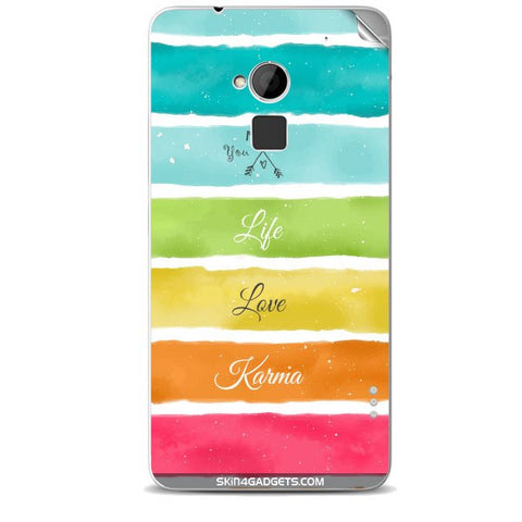 Lets Love Life For HTC ONE MAX Skin