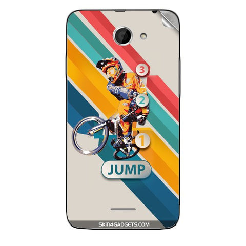1 2 3 Jump For HTC DESIRE 516  (ONLY BACK) Skin