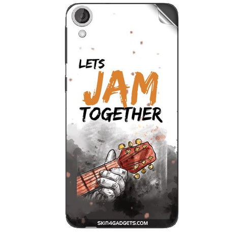 Lets Jam Together For HTC DESIRE 820 Skin