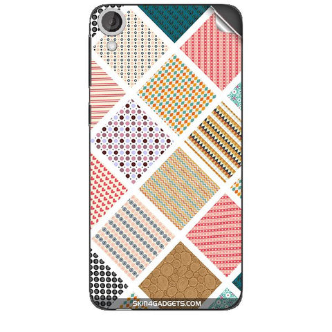 Varied Pattern For HTC DESIRE 820 Skin