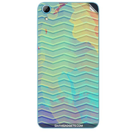 Colourful Waves For HTC DESIRE 826 W Skin
