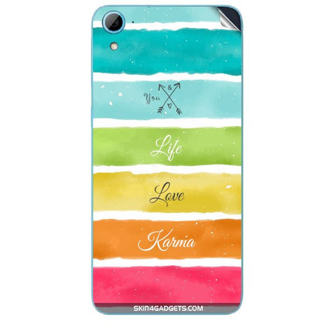 Lets Love Life For HTC DESIRE 826 W Skin