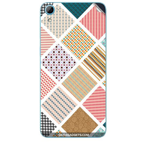 Varied Pattern For HTC DESIRE 826 W Skin