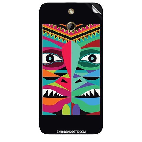 Tribal Face For HTC ONE E8 Skin