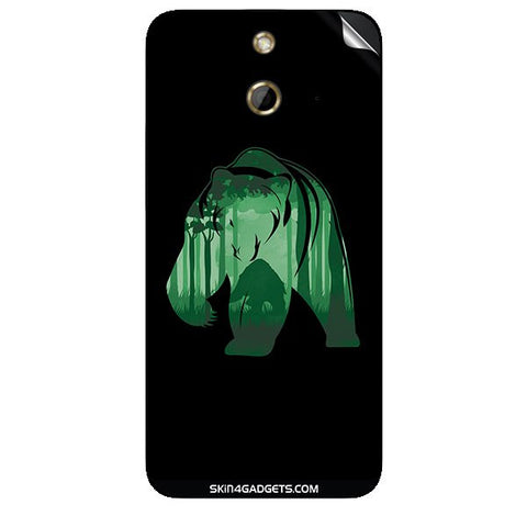 Bear For HTC ONE E8 Skin