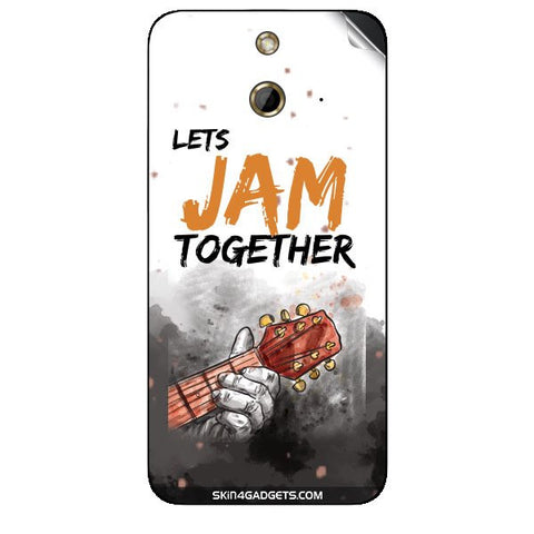 Lets Jam Together For HTC ONE E8 Skin
