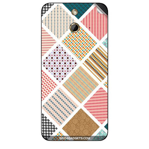 Varied Pattern For HTC ONE E8 Skin