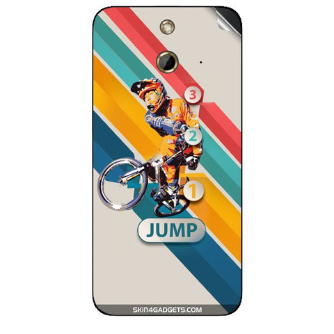 1 2 3 Jump For HTC ONE E8 Skin