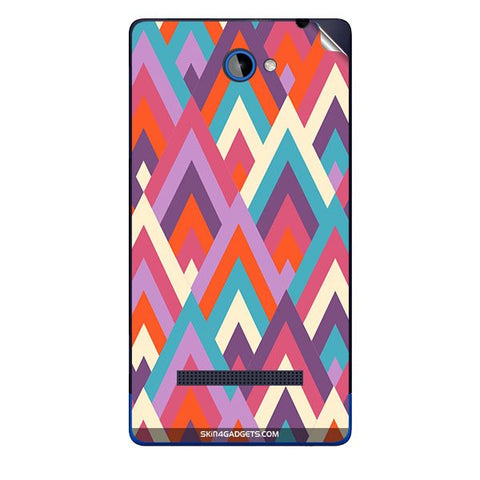 Peaks For HTC A620E Skin