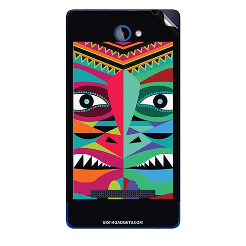 Tribal Face For HTC A620E Skin