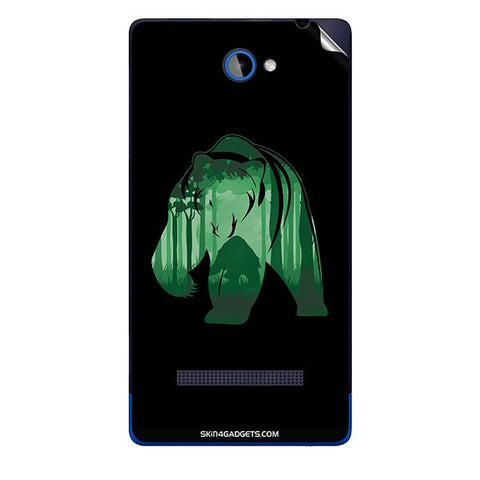 Bear For HTC A620E Skin