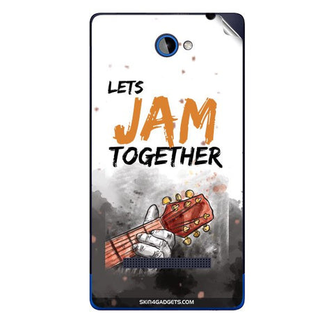Lets Jam Together For HTC A620E Skin