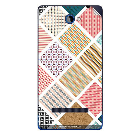 Varied Pattern For HTC A620E Skin