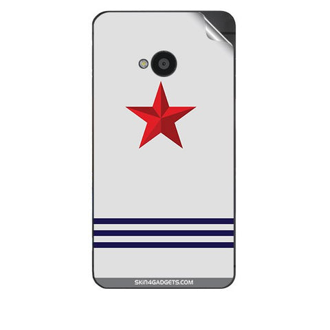 Star Strips For HTC 801E Skin