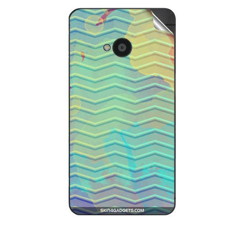 Colourful Waves For HTC 801E Skin