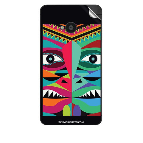 Tribal Face For HTC 801E Skin