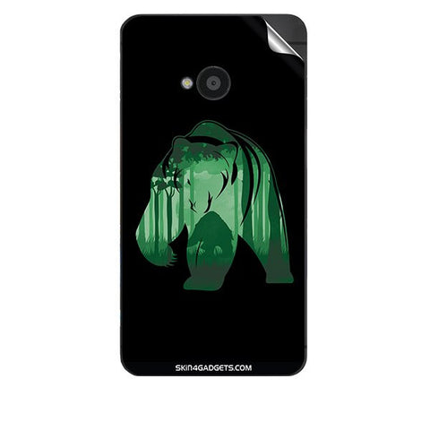 Bear For HTC 801E Skin