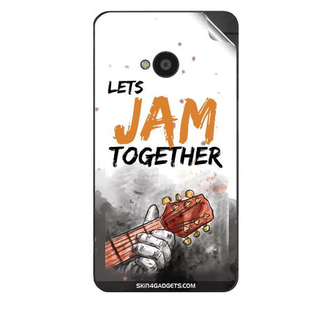 Lets Jam Together For HTC 801E Skin