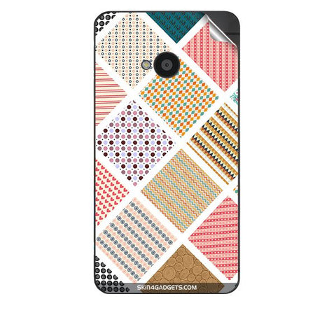 Varied Pattern For HTC 801E Skin