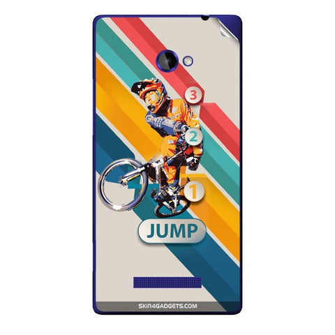 1 2 3 Jump For HTC C625E Skin