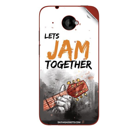 Lets Jam Together For HTC 6160 Skin