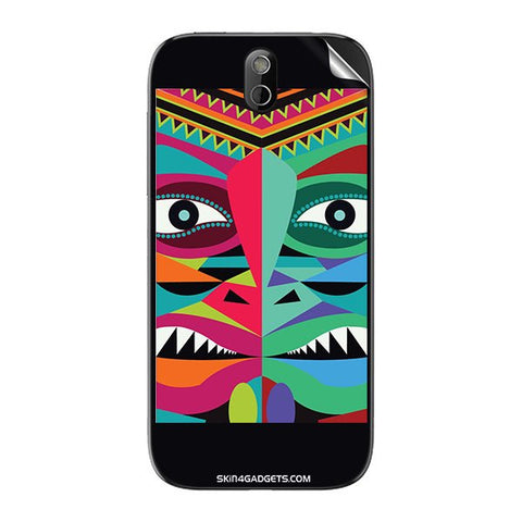 Tribal Face For HTC 608T Skin
